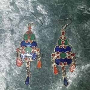 Moraccan Earrings Multicolored